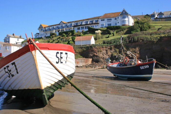 Cottage hotel at hope cove