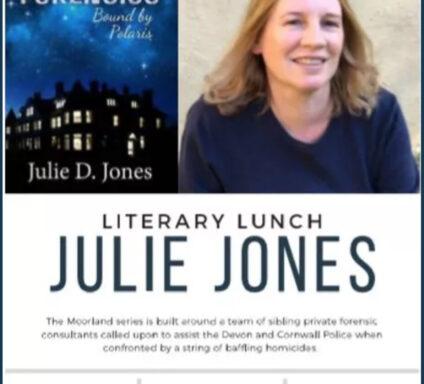 Julie d jones literary lunch