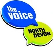 Julie d jones the voice north devon logo