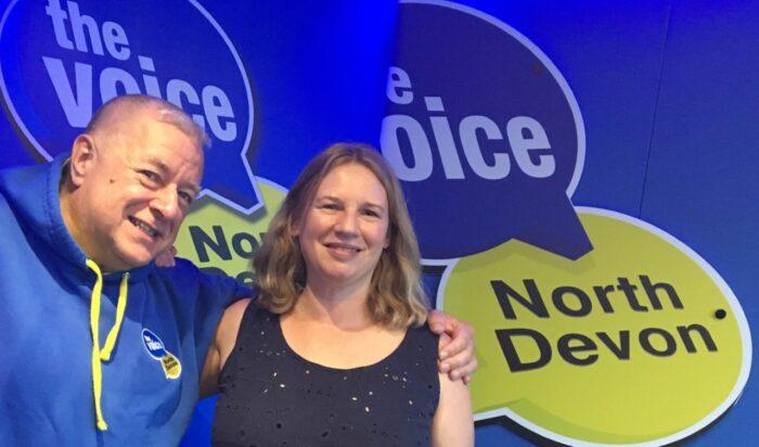 Julie d jones the voice north devon radio